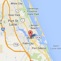 Map Of Stuart Florida.Locations John Mcinnis Auctioneers